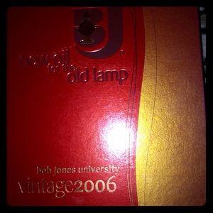 College Yearbook Bob Jones University Vintage 2006